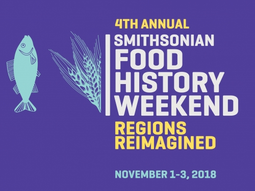 Logo for Food History weekend