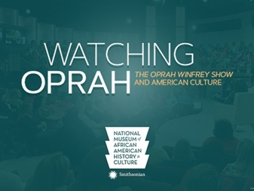 Watching Oprah exhibition logo