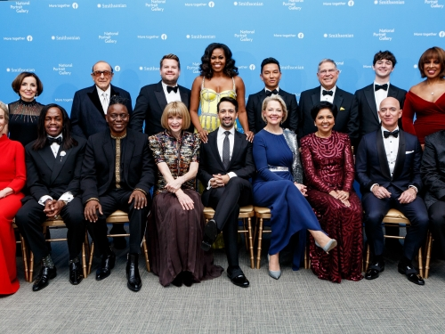 honorees at American Portrait Gala