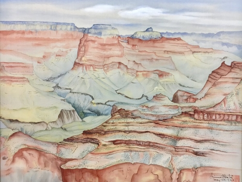 Grand Canyon by Chiura Obata