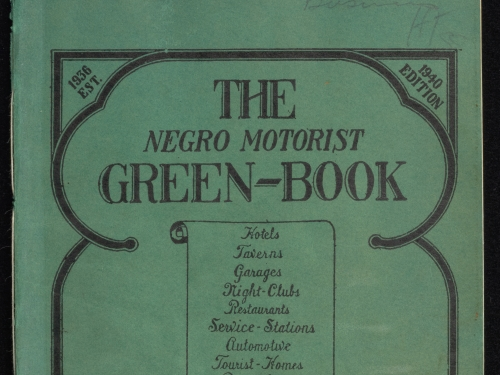 Green book 1940s cover
