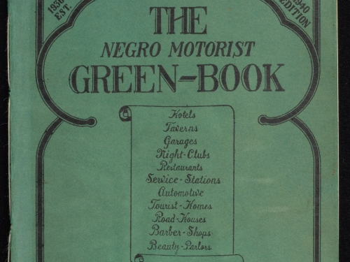 Cover of Green Book 1940