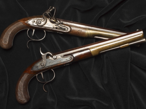 Pair of dueling pistols
