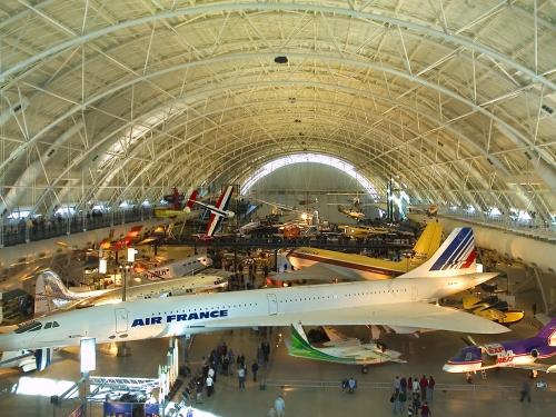 Udvar-Hazy Center hangar