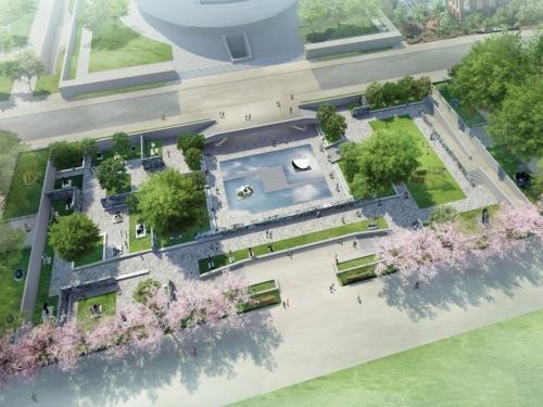 Garden rendering