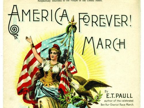 America Forever sheet music cover