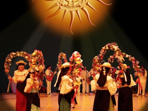 Festival of the Sun dancers