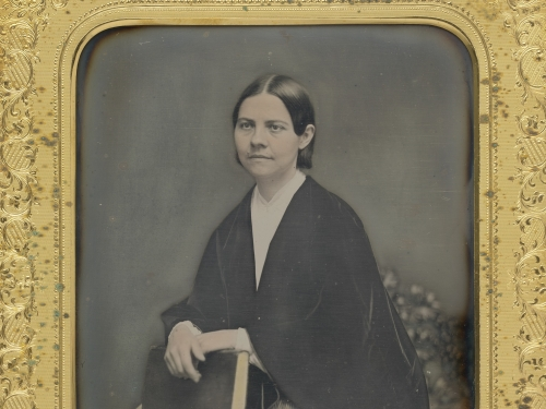 Lucy Stone by an unidentified photographer