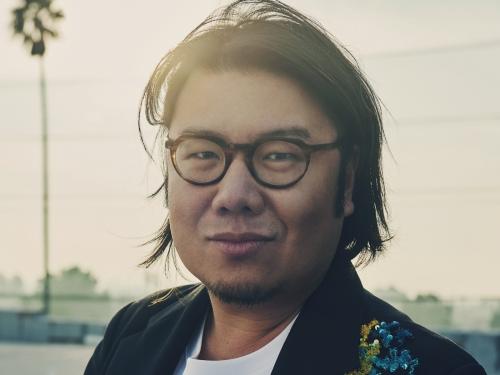 Kevin Kwan headshot by Jessica Chou