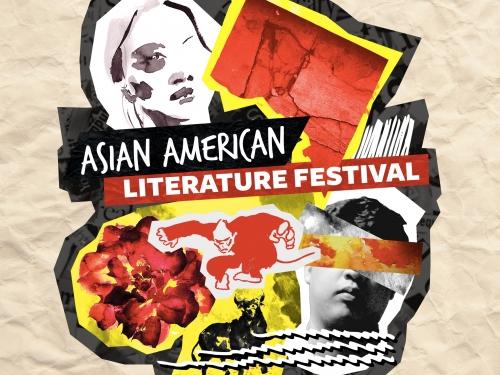 Logo for literature festival