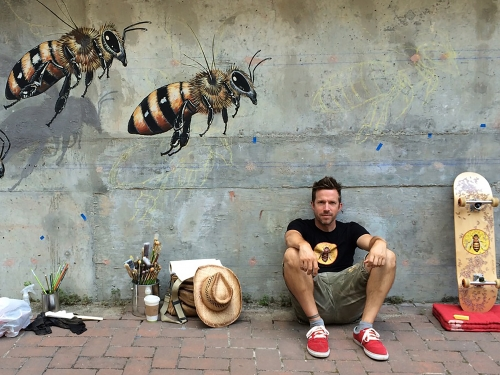 Matthew Wiley and Bees