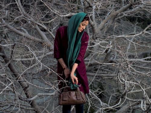 women in trees