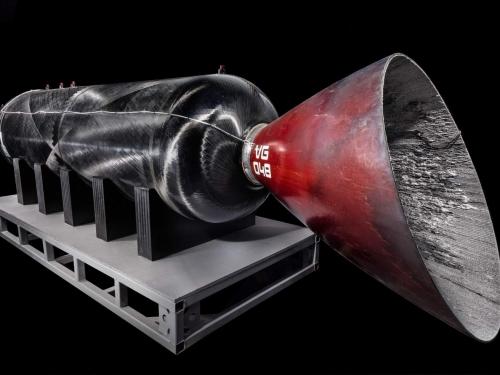 Spaceship rocket motor