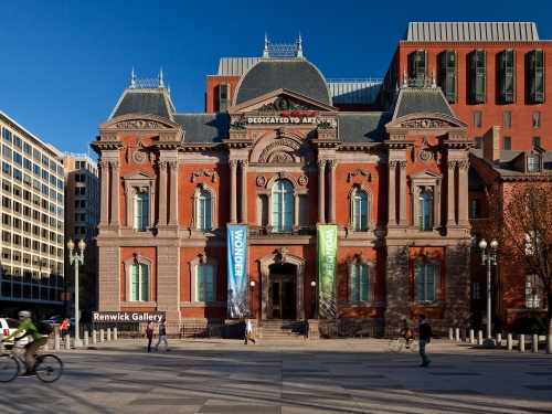 Exterior of the Renwick Gallery