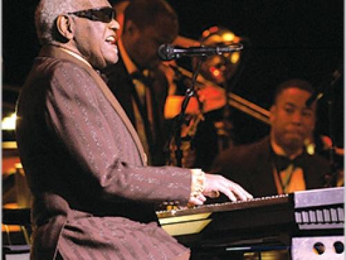 Ray Charles performing at Monterey Pop