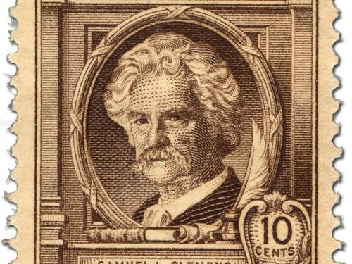 Samuel Clemens stamp