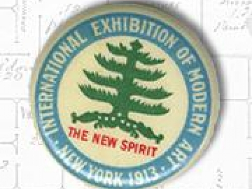 International Exhibition of Modern Art button