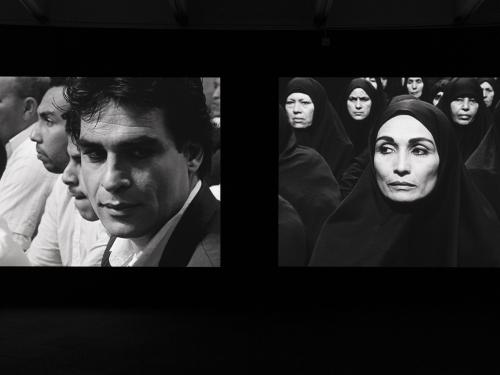 """Two still images from film """"Fervor"""""""