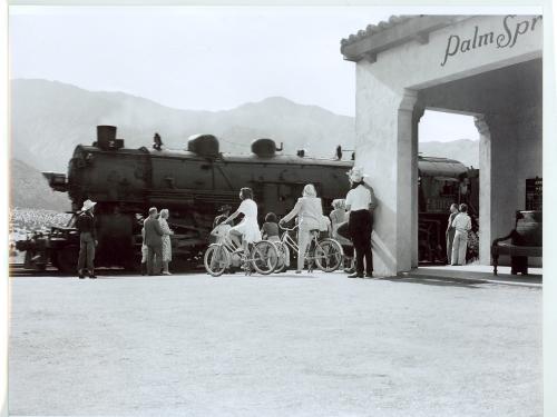 Spanish style train station