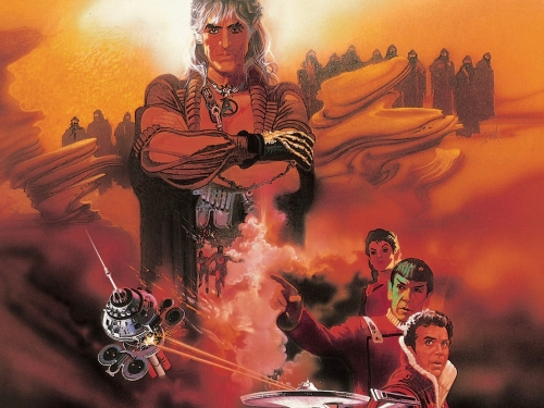Movie poster for The Wrath of Khan