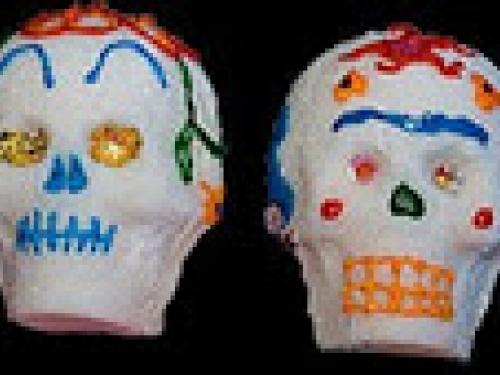 Sugar skull candy