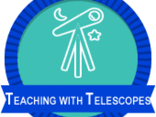 Teaching with Telescopes badge