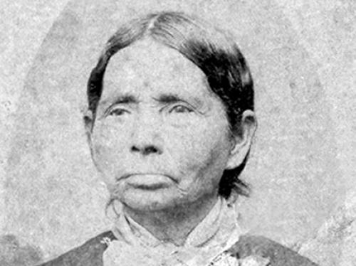 Daguerreotype of Cherokee woman