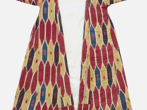 Detail of woman's robe