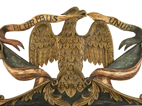 E pluribus unum eagle