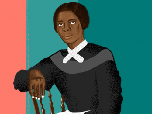 Harriet Tubman illustration.