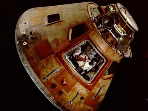 """Apollo 11 Command Module """"Columbia,"""" 1969"""