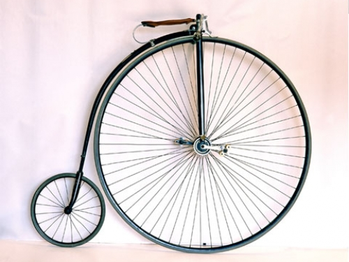 Columbia Light Roadster High-Wheel Bicycle, 1886