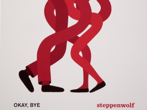 "Poster advertising play ""Okay, Bye"""