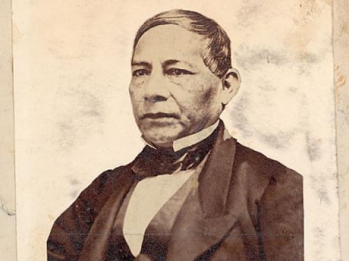 portrait of Benito Juarez