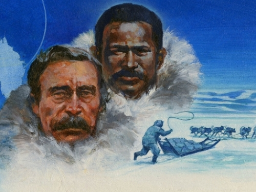 Robert E. Peary and Matthew Henson