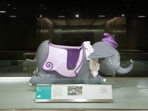 Dumbo Flying Elephant Disneyland Ride, 1955