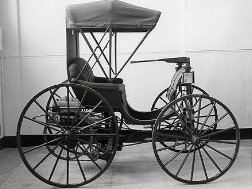 Duryea Automobile, 1893-94