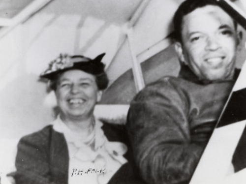 Eleanor Roosevelt at Tuskegee, 1941