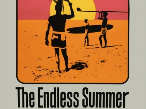 Poster for film The Endless Summer