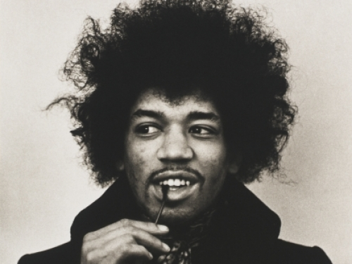 Jimi Hendrix by Linda McCartney