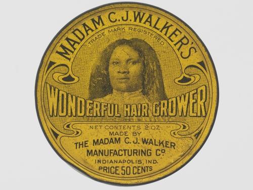 hair grower tin