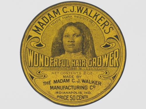 hair grower tin