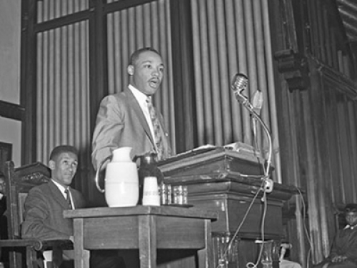 The Rev. Martin Luther King Jr., 1956