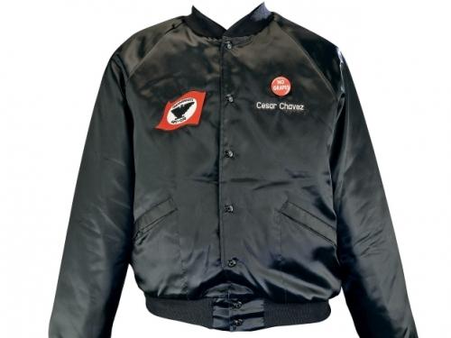 black bomber style jacket