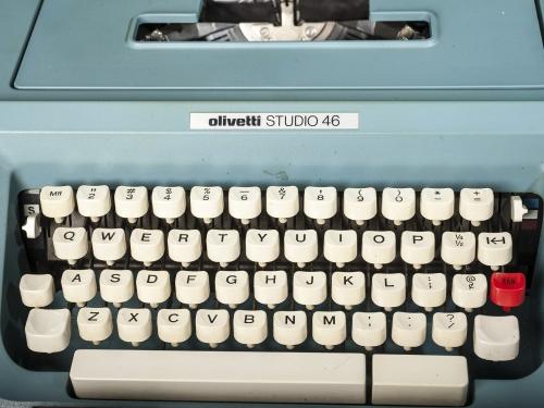 Octavia Butler Typewriter