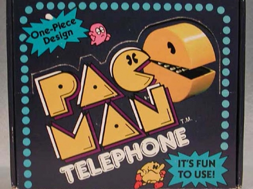 Pac-Man Telephone, 1982