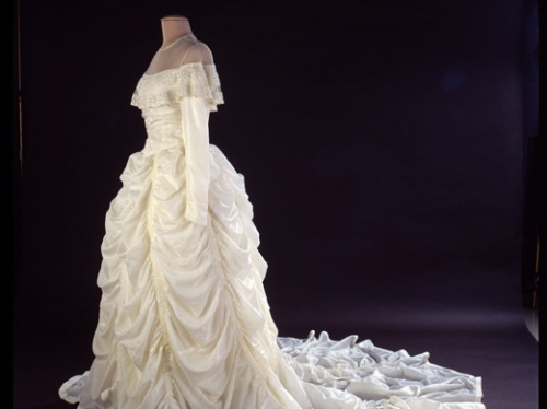 Parachute Wedding Dress, 1947
