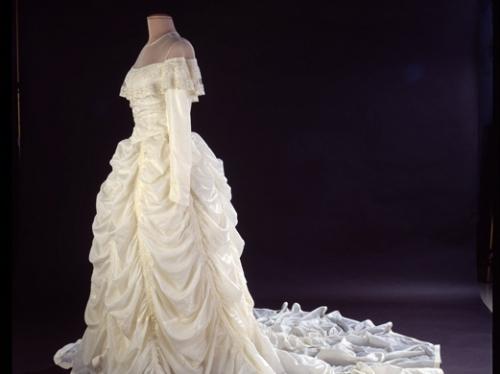 Parachute Wedding Dress, 1947