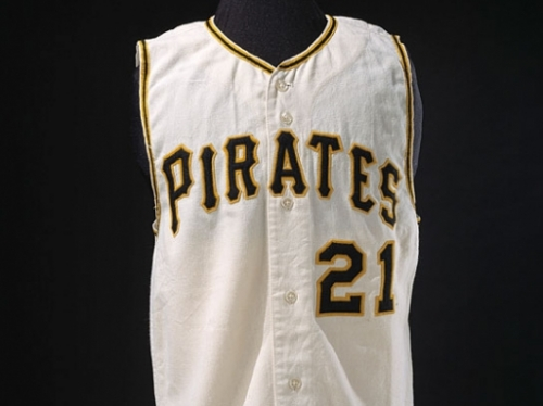 Roberto Clemente's Baseball Uniform, late 1960s