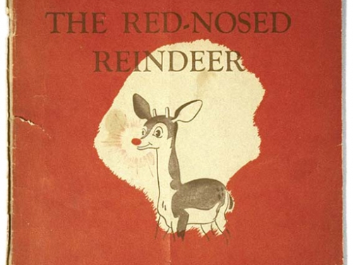 """Montgomery Ward Department Store """"Rudolph the Red-Nosed Reindeer"""" Book, 1939"""
